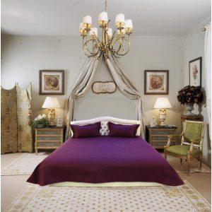 купить Покрывало Arya 250x260 8152 M38 Фиолетовый фото