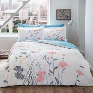 купить Светящееся постельное белье ТАС Talia Red Голубой фото