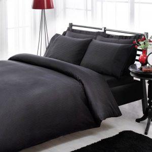 купить Постельное белье ТАС Premium Basic Black Черный фото