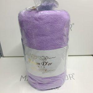 купить Простынь на резинке с наволочками mahra lilac Сиреневый фото