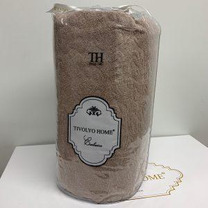 купить Простынь на резинке с наволочками TIVOLYO HOME MAHRA KAHVE Коричневый фото