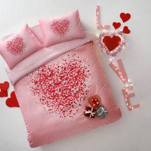 купить Светящееся постельное белье TAC Beloved Розовый фото