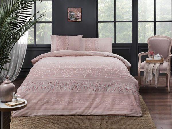 купить Постельное белье TAC Leona Pink Розовый фото