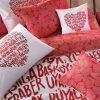купить Постельное белье TAC Love Красный фото 105980