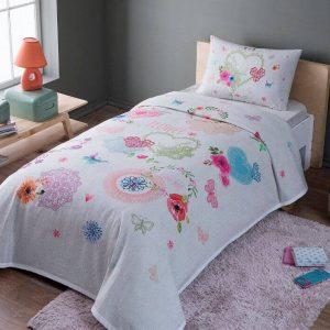 купить Летнее постельное белье с Пике TAC Dottie Розовый фото