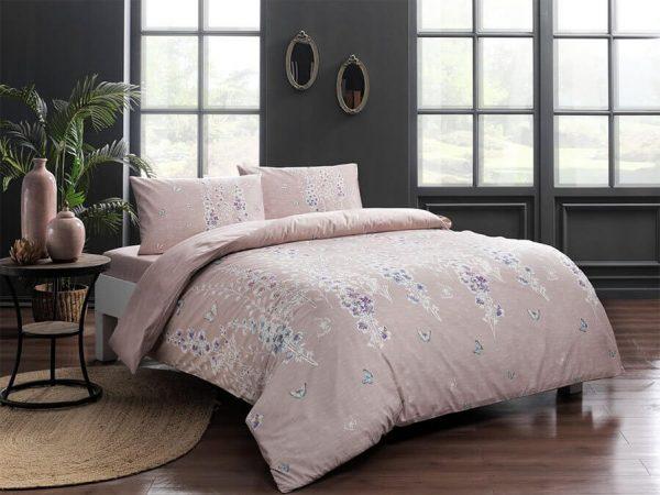купить Постельное белье TAC Sarah Pink Розовый фото