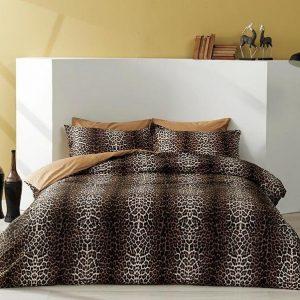 купить Постельное белье TAC Leopard Коричневый фото