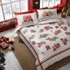 купить Постельное белье TAC Santa Красный фото 106049