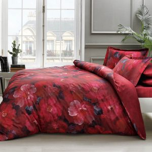 купить Постельное белье TAC Boheme Digital Красный фото