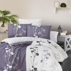 купить Постельное белье First Choice cатин de luxe carmelia lilac Сиреневый фото
