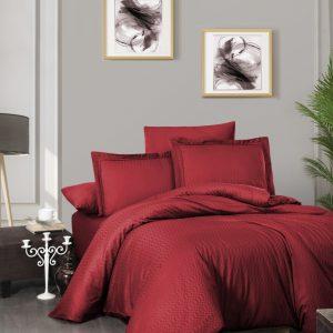 купить Постельное белье First Choice сатин де люкс chackers red Красный фото