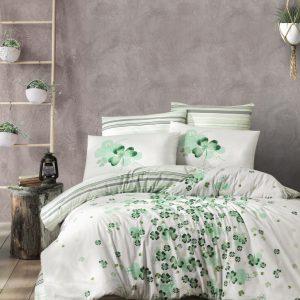 купить Постельное белье First Choice cатин de luxe chance green Зеленый фото