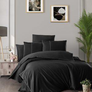 купить Постельное белье First Choice сатин де люкс fantasy black Черный фото
