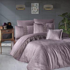купить Постельное белье First Choice v.i.p moon light сатин florenza lilac Лиловый фото