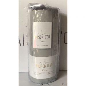 купить Простынь на резинке с наволочками saten grey Серый фото
