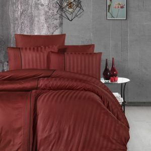купить Постельное белье First Choice сатин де люкс modalife cinnamon Красный фото