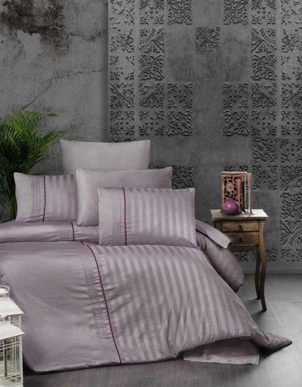 купить Постельное белье First Choice сатин де люкс modalife lavender Лиловый фото