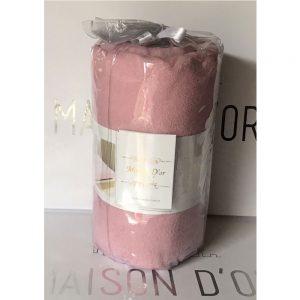 купить Простынь на резинке с наволочками mahra pudra Розовый фото