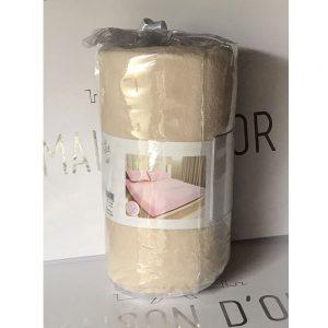 купить Простынь на резинке с наволочками mahra beige Бежевый фото