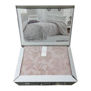 купить Махровая простынь Maison Dor SANDA PUDRA Розовый фото