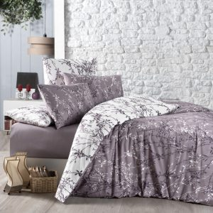 купить Постельное белье First Choice cатин de luxe zena lilac Сиреневый фото