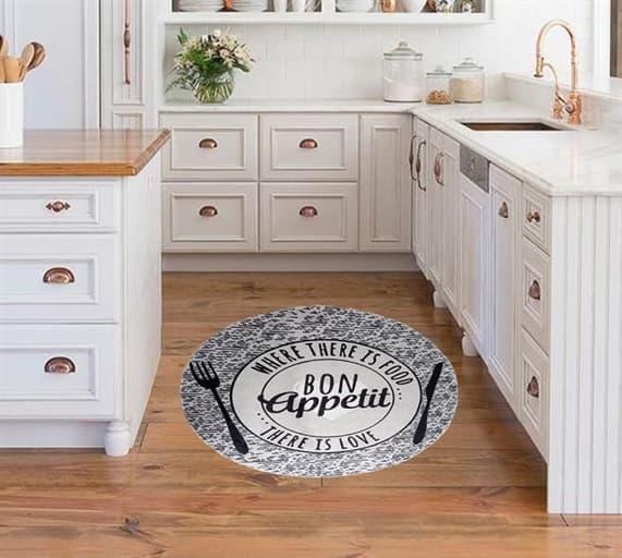 купить Коврик для кухни NORMA NR01 Серый фото