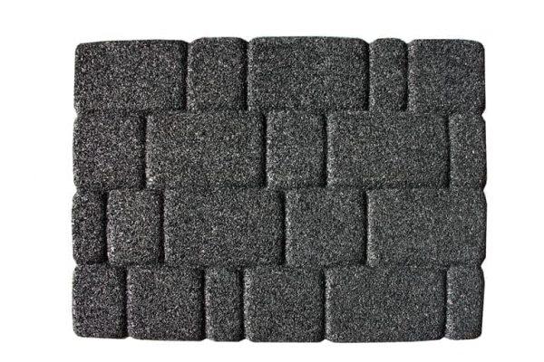 купить Коврик придверный Old Сity Granite Gray Серый фото