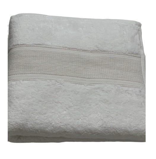 купить Махровое полотенце TAC Pamuk Pure fildisi Кремовый фото