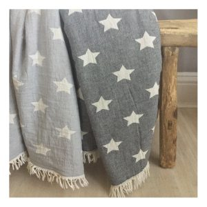 купить Плед-накидка Barine Wool Star Throw Grey  фото