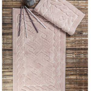 купить Набор ковриков Zugo Home Asos Pudra Розовый фото