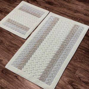купить Набор ковриков Zugo Home Mercan Fidisi Кремовый фото
