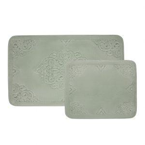купить Набор ковриков Zugo Home Ala SuYesili Зеленый фото