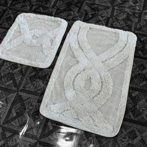 купить Набор ковриков Zugo Home Kario Fidisi Кремовый фото