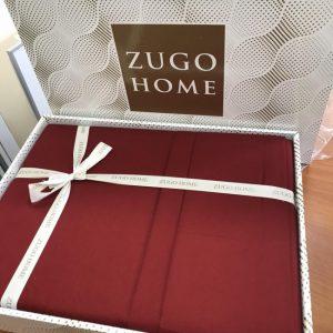 купить Постельное белье Zugo Home сатин Bordeaux Красный фото