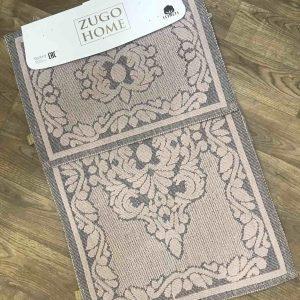 купить Набор ковриков Zugo Home Mercan Pudra Розовый фото