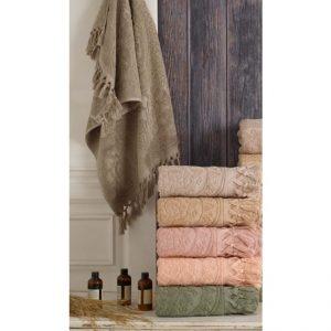 купить Набор махровых полотенец Sikel жаккард Hitit 6 шт  фото