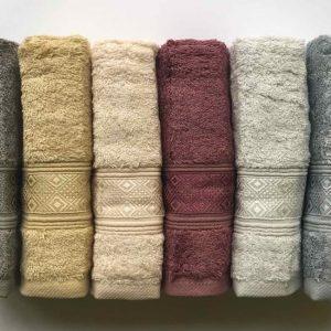 купить Набор махровых полотенец Sikel Bamboo Pirlanta 30x50 6 шт  фото 2