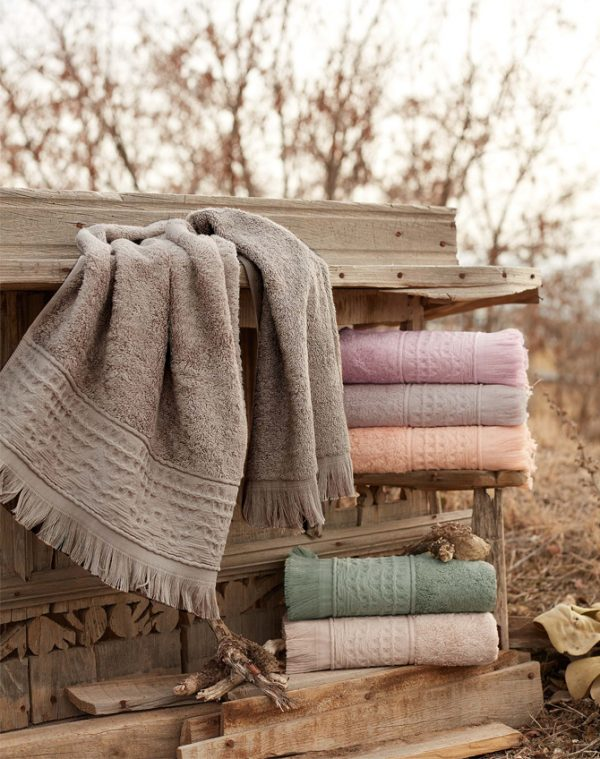 купить Набор махровых полотенец Sikel Bamboo Alacati 50x90 6 шт  фото