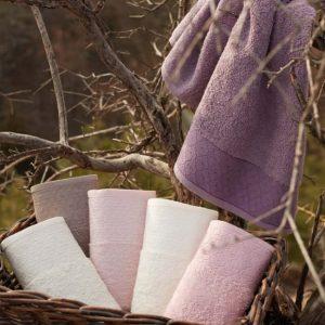 купить Набор махровых полотенец Sikel Cotton Laodikeia 30x50 6 шт Лиловый фото