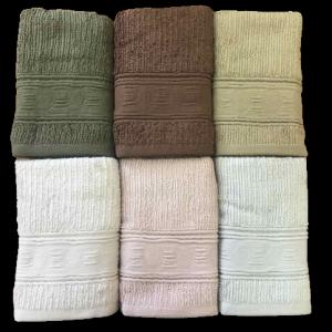 купить Набор махровых полотенец Sikel жаккард Topkapi 6 шт  фото