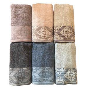 купить Набор махровых полотенец Purry Cotton Defne 6 шт  фото