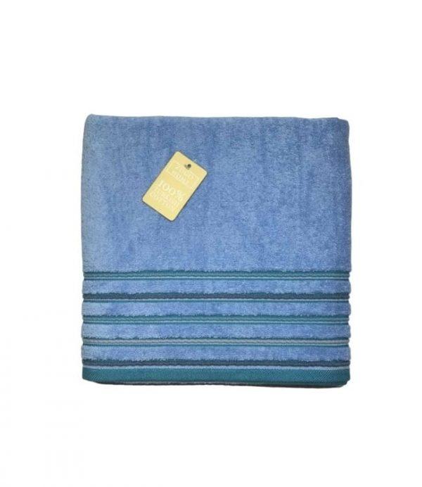 купить Махровое полотенце Zugo Home Long Twist Erkek 100x150 голубой Голубой фото