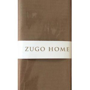 купить Набор наволочек Zugo Home ранфорс Basic шоколадный Коричневый фото