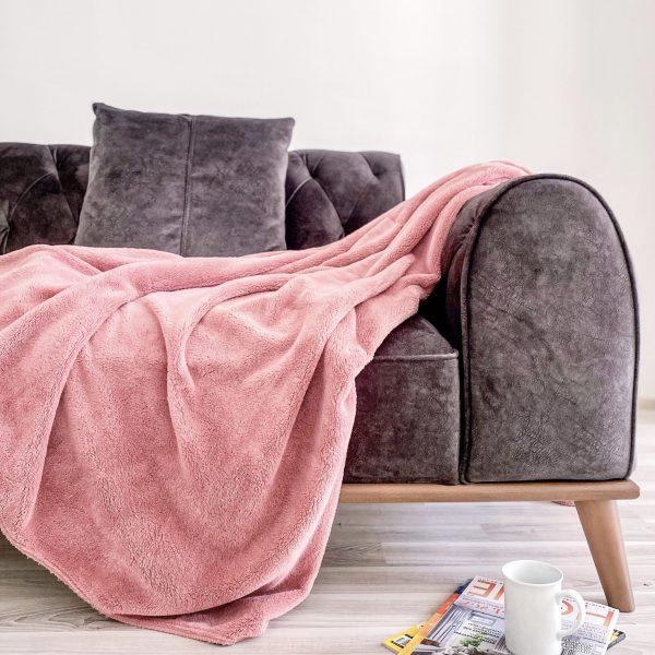 купить Плед Zugo Home Welsoft pink Розовый фото