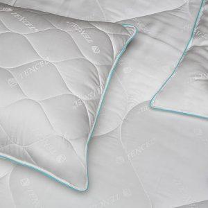 купить Подушка микрогелевая TAC Tencel Белый фото
