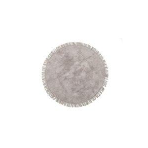 купить Круглый коврик Irya Loris gri Серый фото