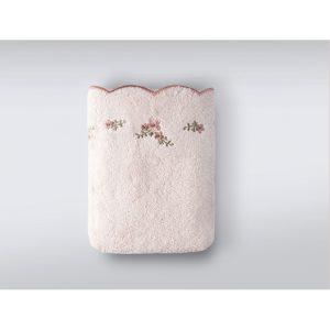 купить Набор полотенец Irya Clarina pudra пудра 3 шт Розовый фото