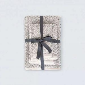 купить Набор полотенец Irya Jena gri Серый фото