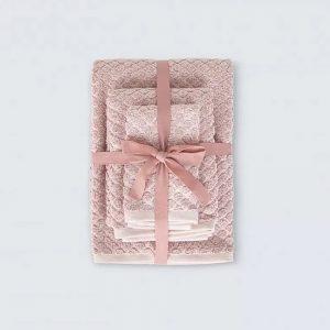 купить Набор полотенец Irya Jena pembe Розовый фото