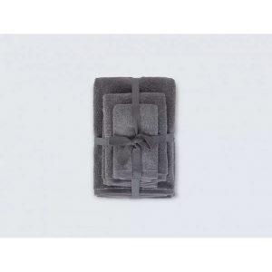 купить Набор полотенец Irya Owen antrasit Серый фото